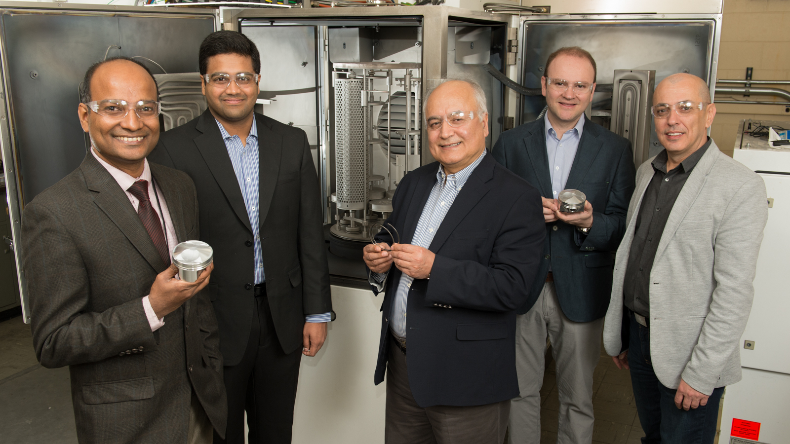 Five Argonne scientists and engineers