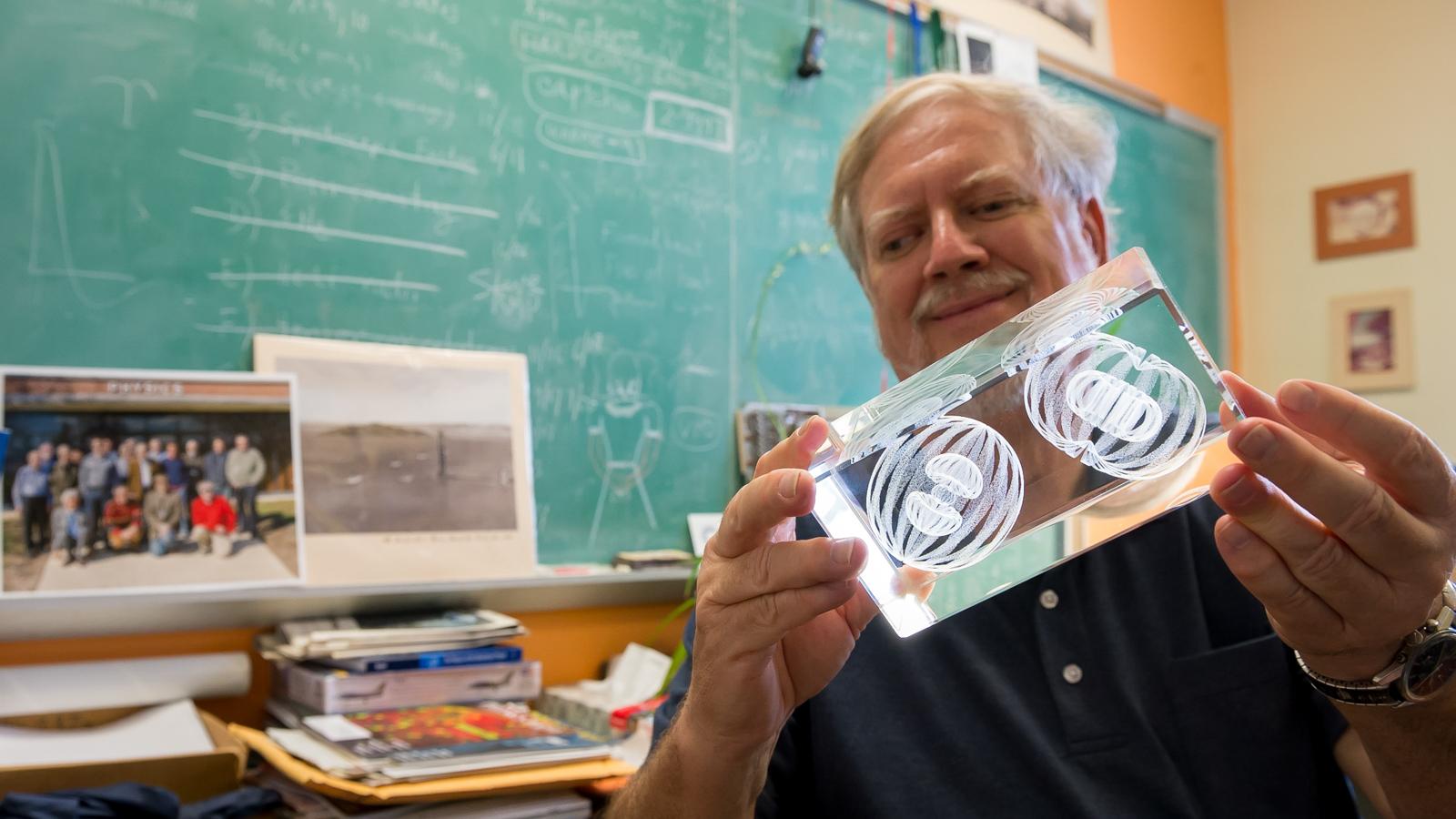 Argonne physicist Robert Wiringa