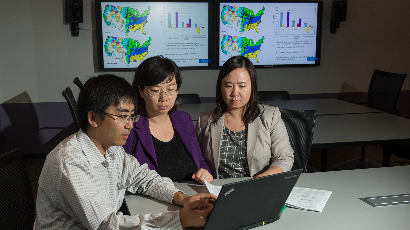 In Cai, Feng and Wang's robust analysis, they investigated albedo effects and land usage in millions of sites across the U.S.