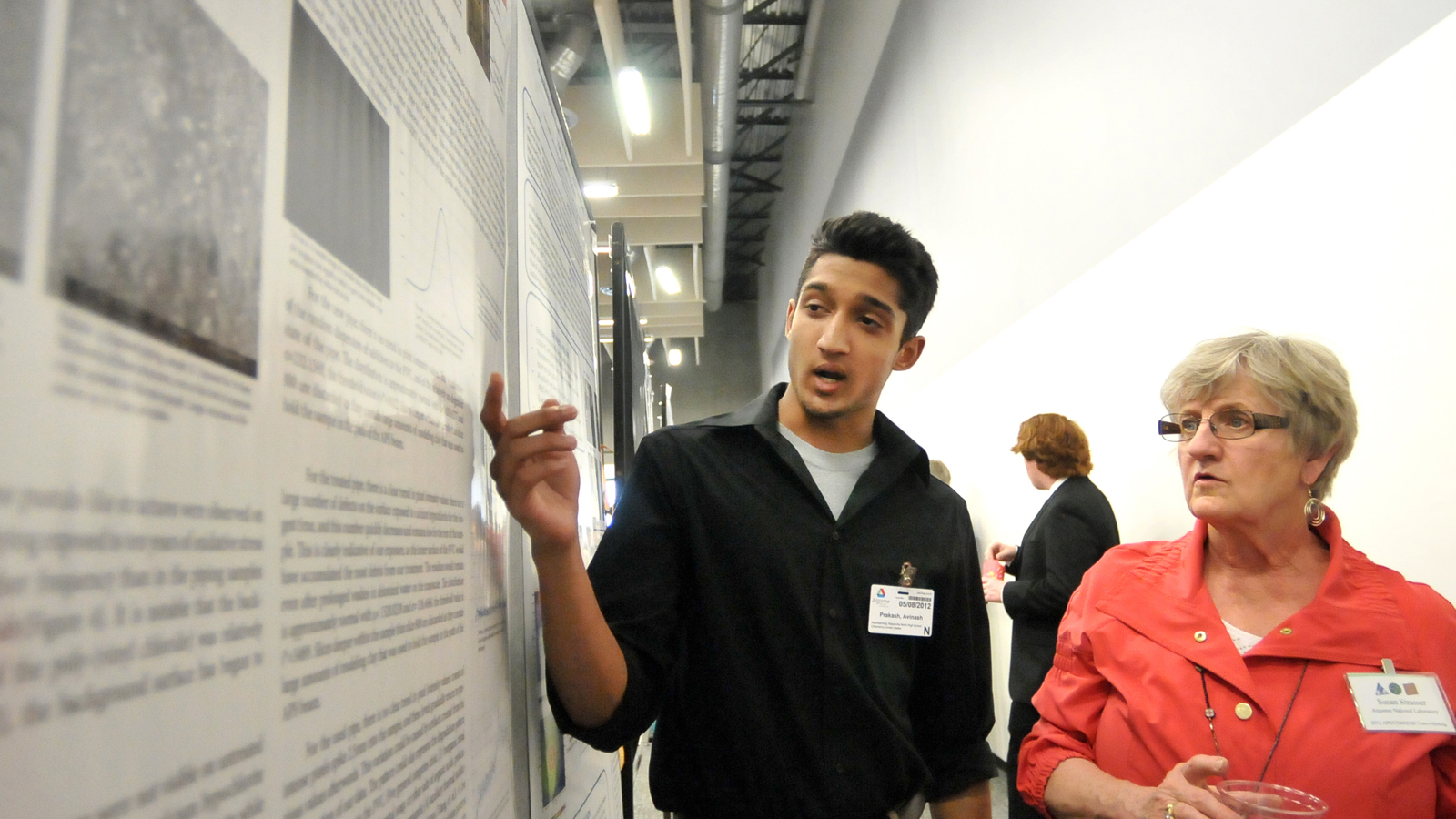 """""""The possibilities of science are limitless,"""" said high school senior Avinash Prakash. """"Science is continually growing. Through research we are part of a continuing process."""""""