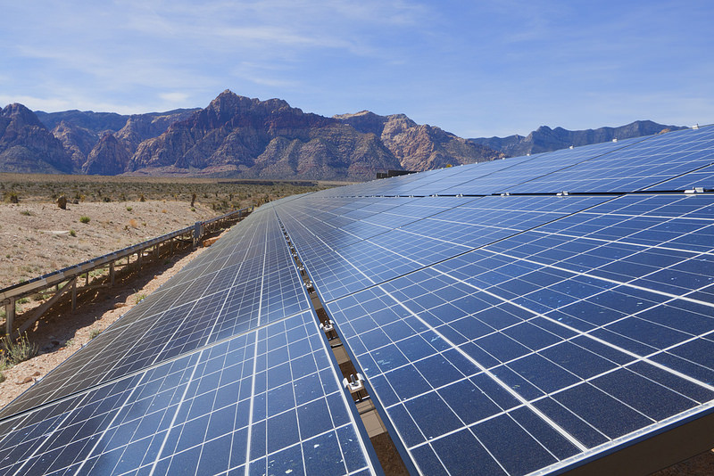 Researchers from Argonne National Laboratory modeled several scenarios to add more solar power to the electric grid, using real-world data from the southwestern power utility Arizona Public Service Company. Credit: Shutterstock.