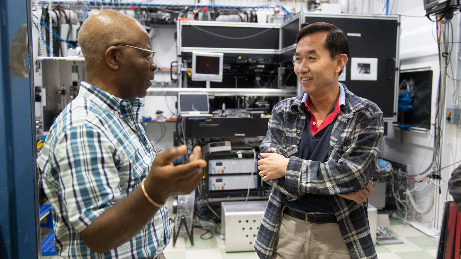 INCREASE members visited Argonne's Advanced Photon Source to network and learn how to submit competitive proposals for their research.