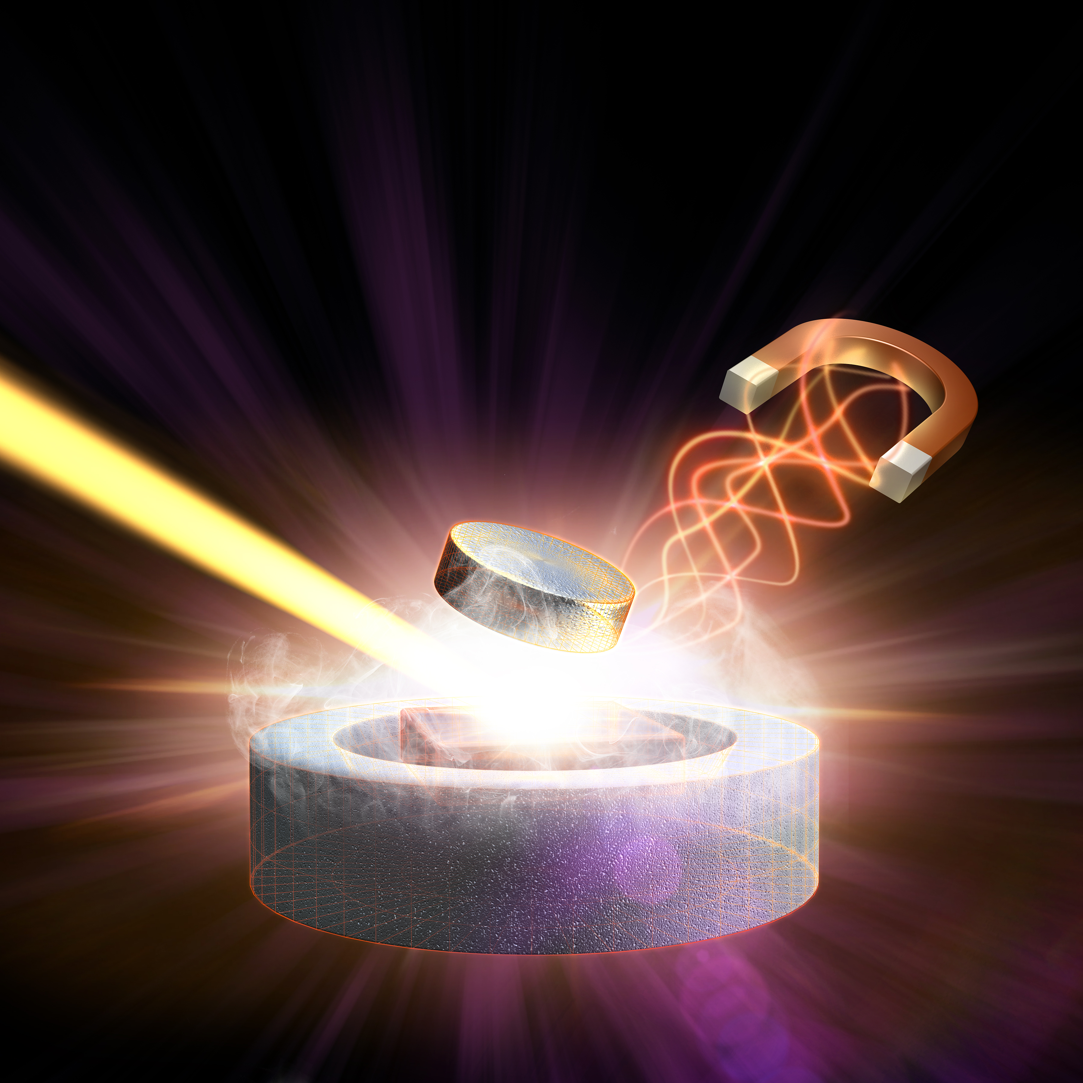 An Unprecedented Blend Of Intense Magnetic And X Ray Laser Pulses