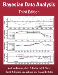 Bayesian Data Analysis, (3rd edition) by Andrew Gelman, John Carlin, Hal Stern, David Dunson, Aki Vehtari, and Donald Rubin.