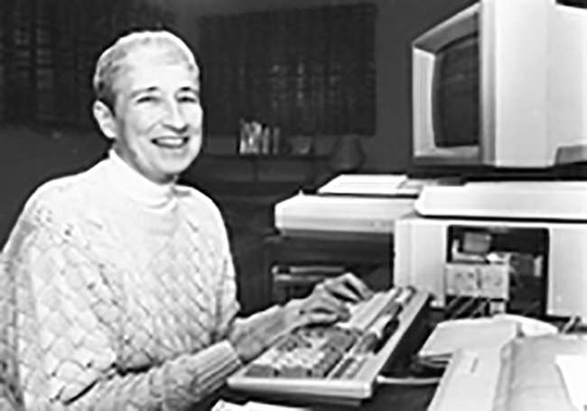 Margaret Butler, a pioneering computational scientist