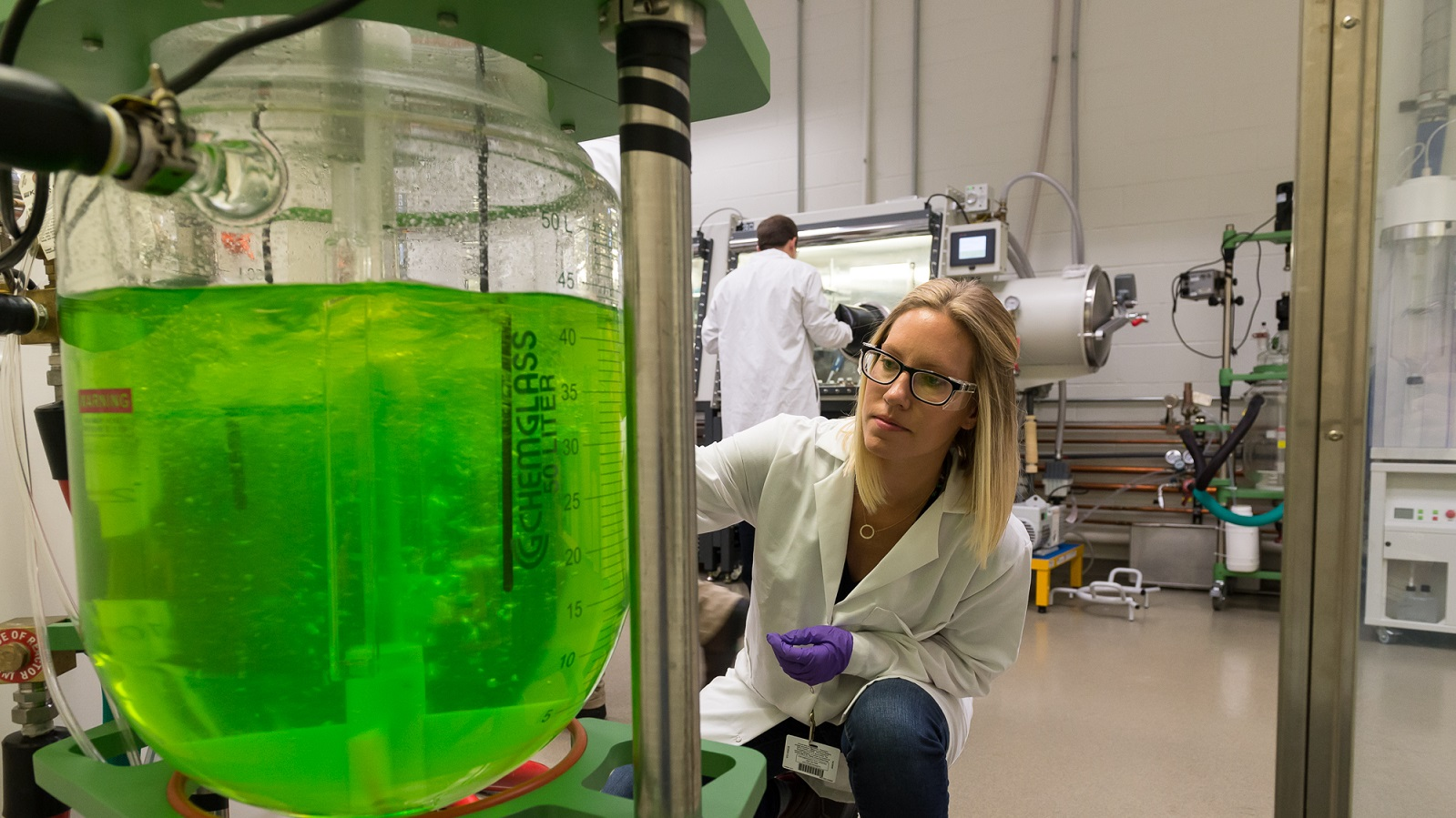Argonne's Materials Engineering Research Facility is a key resource for developing, validating and scaling up new materials used to advance manufacturing competitiveness. (Image by Argonne National Laboratory.)