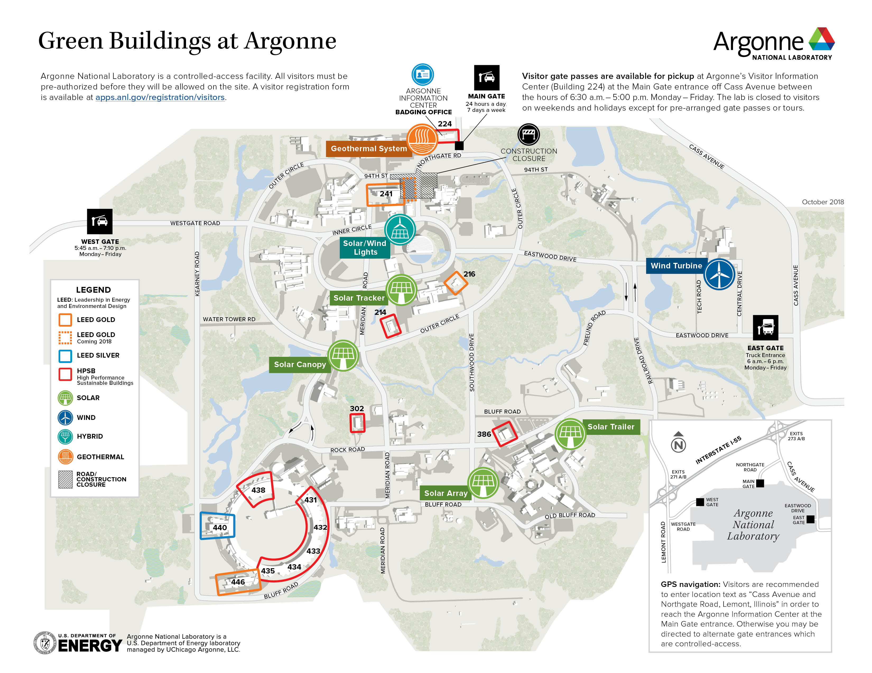 Green Buildings at Argonne National Laboratory
