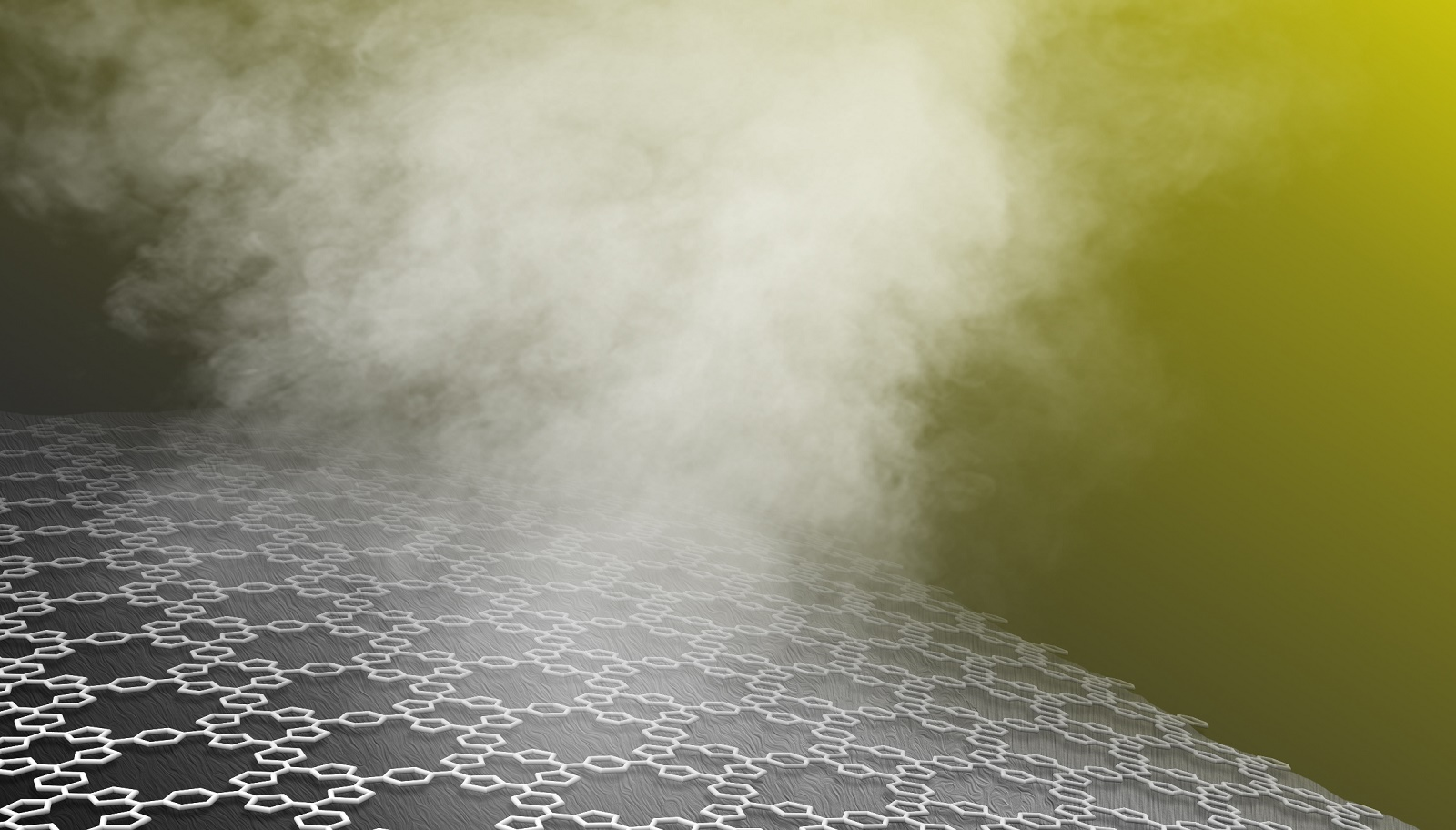 A schematic representation of a POF-coated surface generating steam (Image by Argonne National Laboratory.)