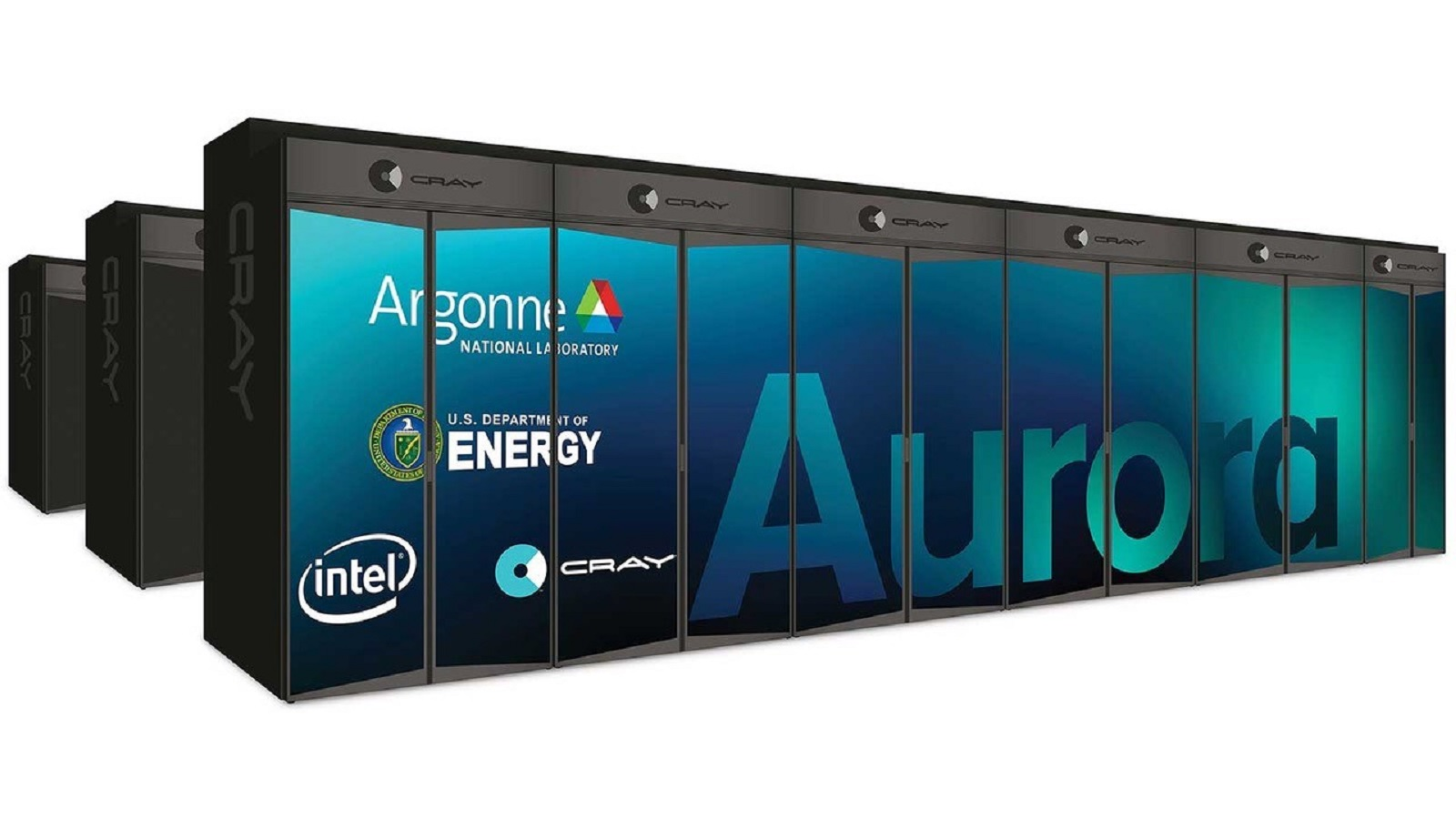 The Aurora supercomputer is slated for delivery in 2021. (Image by Argonne National Laboratory.)