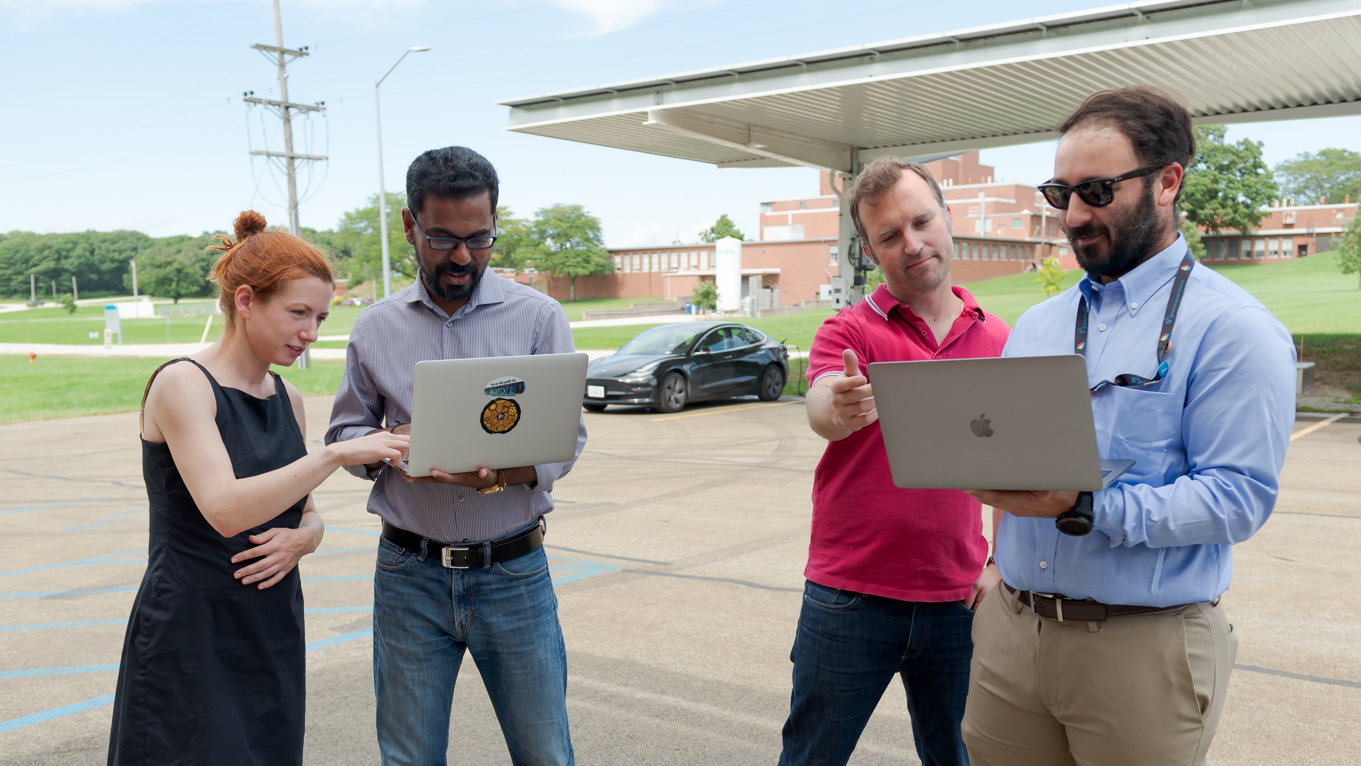 Group of cross-disciplinary scientists are studying ways in which hackers may target vehicles and electric charging infrastructure.