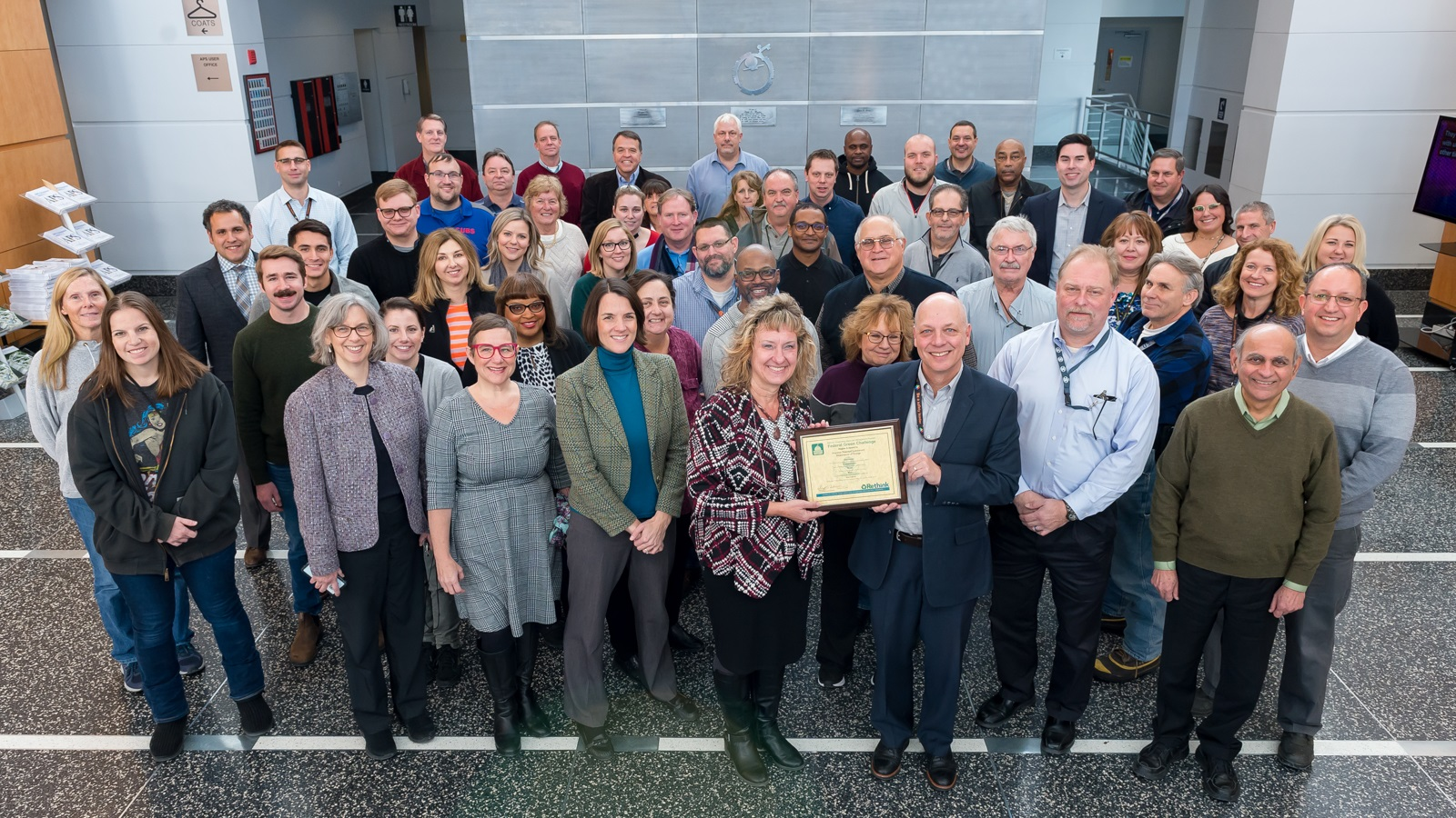 Catherine Hurley and team have been awarded the Federal Green Challenge award.