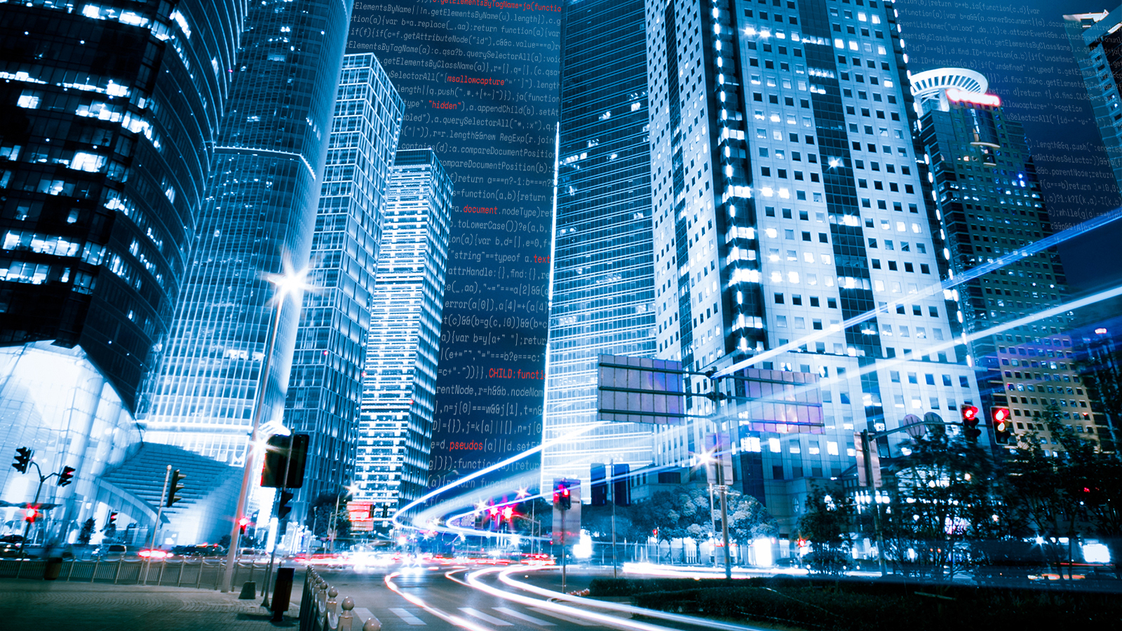 SSS-Cybersecurity banner-city at night scene