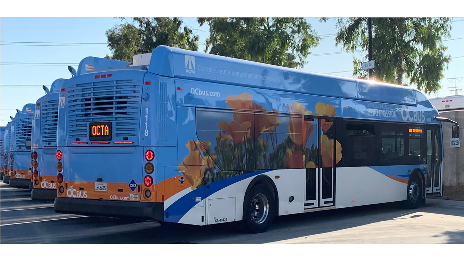 Intersections-Fuel cell buses at Orange County Transit Authority