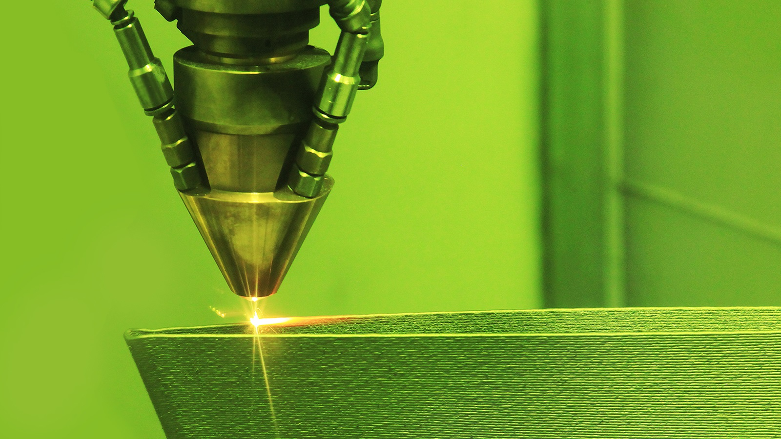 When 3D printing metallic parts, Argonne scientists found a correlation between temperatures at the surface and defects that form below. (Image by Shutterstock / sspopov.)