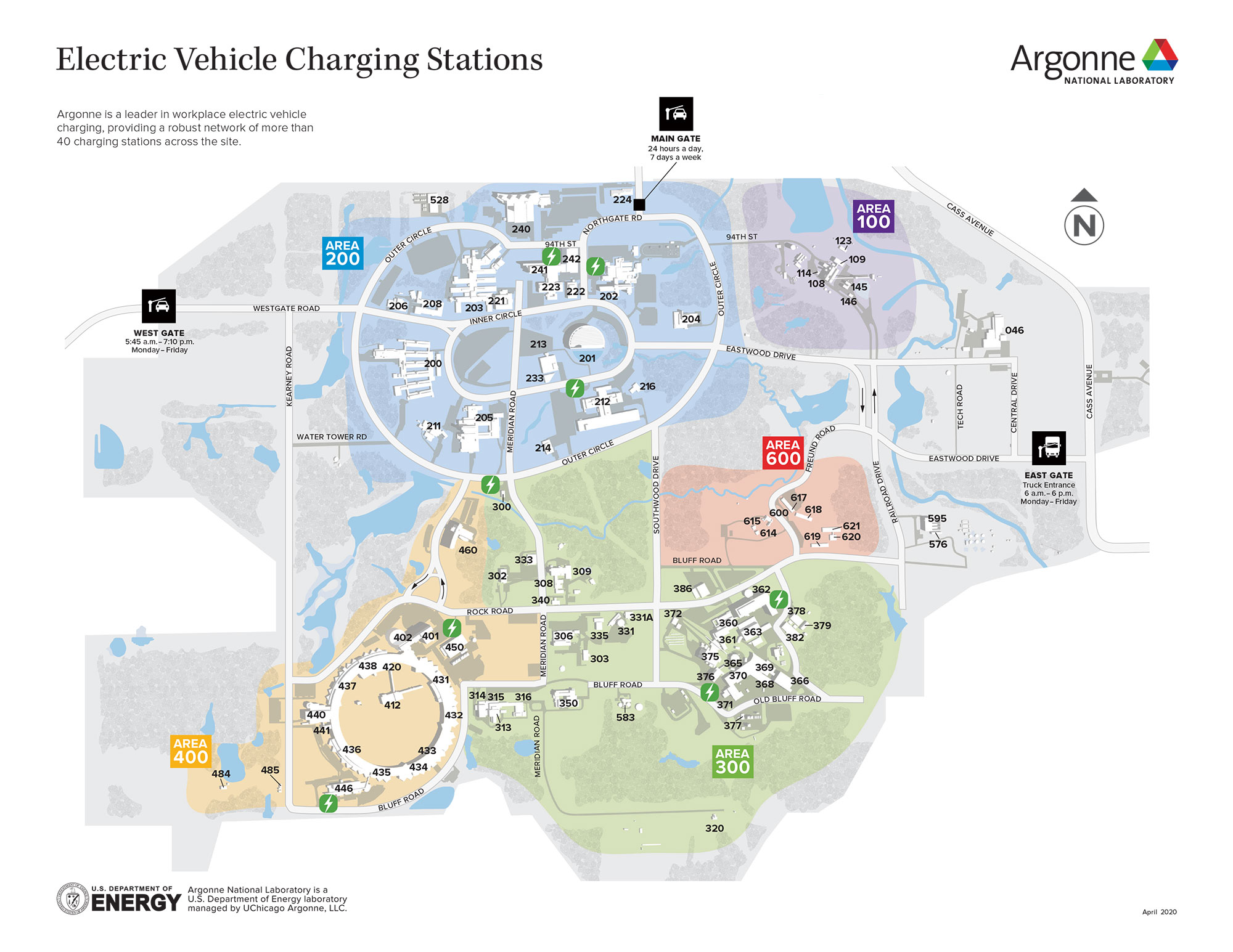 Electric Vehicle Charging Stations Map