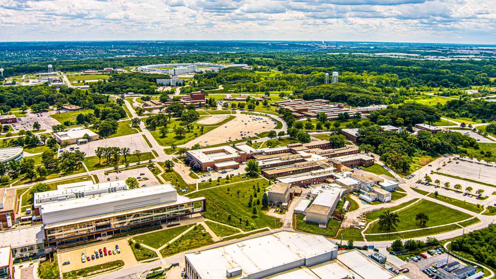 Aerial view (Image by Argonne National Laboratory.)