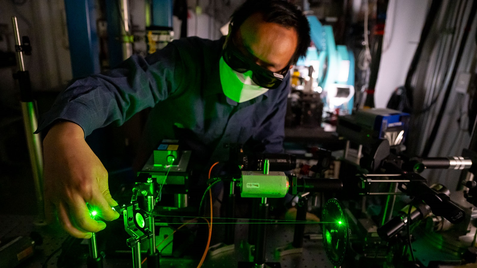 The Q-NEXT collaboration works to develop the science and technology to control, store and transmit quantum information. (Image by Argonne National Laboratory.)