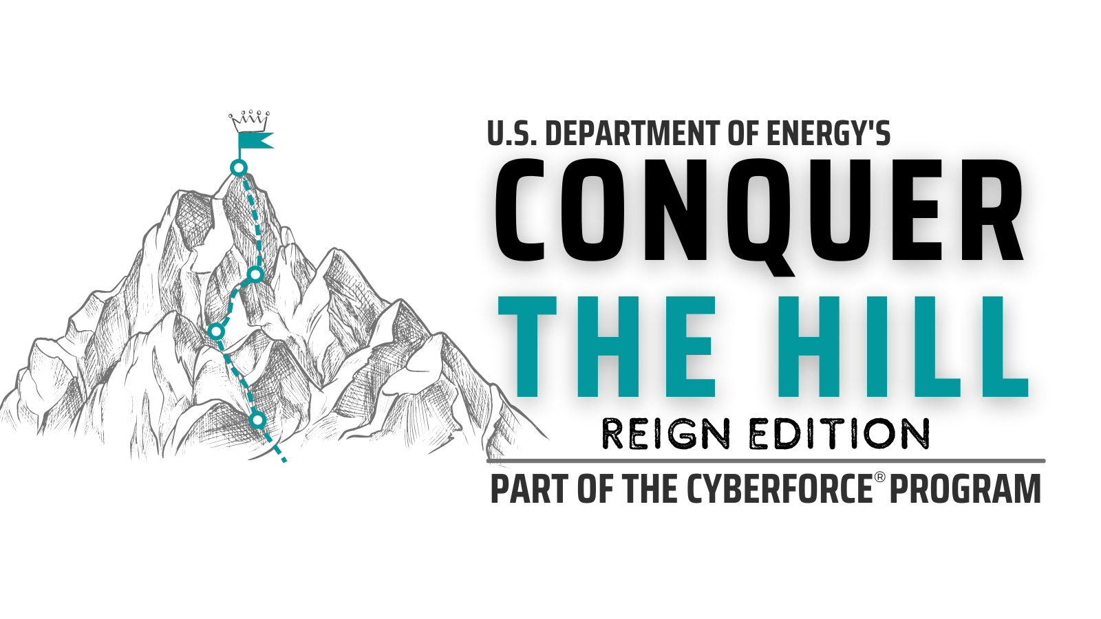 Logo with mountain image and text. (Image by Argonne National Laboratory.)