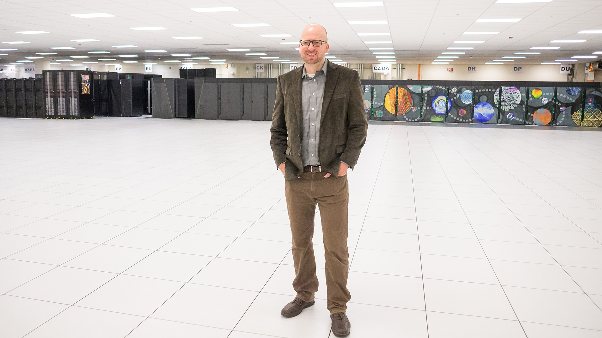 Justin Wozniak of the Swift/T team. Not pictured from the Swift/T team are Jonathan Ozik, Nicholson Collier, Ian Foster and Michael Wilde. (Image by Argonne National Laboratory.)