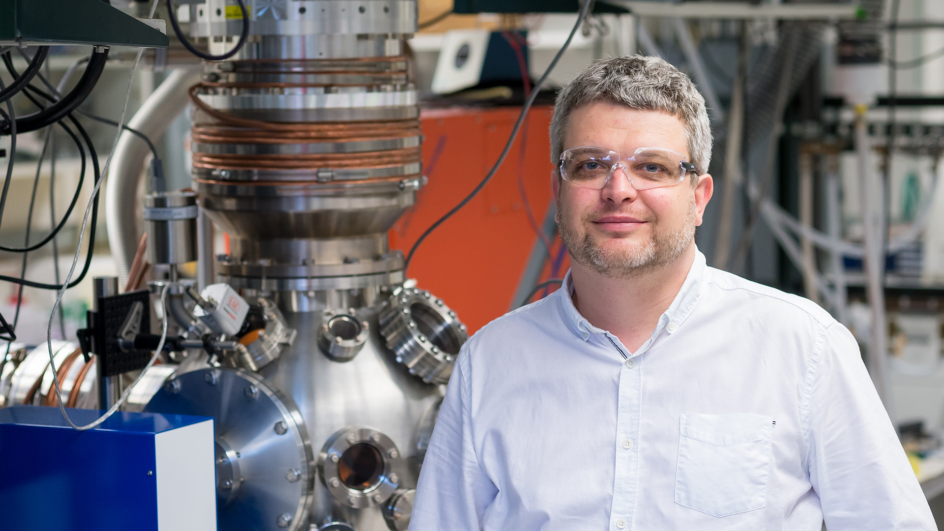 Kirill Prozument of the RAINet team. Not pictured from the RAINet team is Daniel Zaleski. (Image by Argonne National Laboratory.)