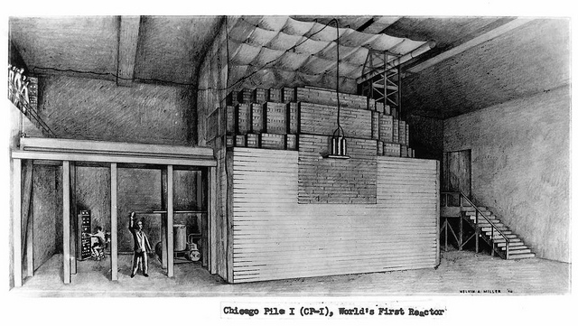 Drawing of Chicago Pile 1
