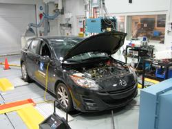 Energy Systems D3 2010 Mazda 3 i-stop | Argonne National Laboratory