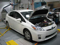 front view of 2010 Toyota Prius