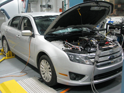 front view of 2010 Ford Fusion Hybrid
