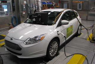 Front View Of 2017 Ford Focus Electric