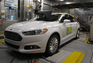 front view of 2013 Ford Fusion Energi