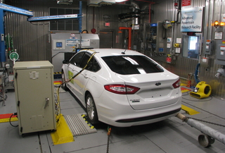 rear view of 2013 Ford Fusion Energi