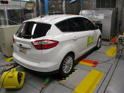 rear view of 2014 Ford Cmax Energi