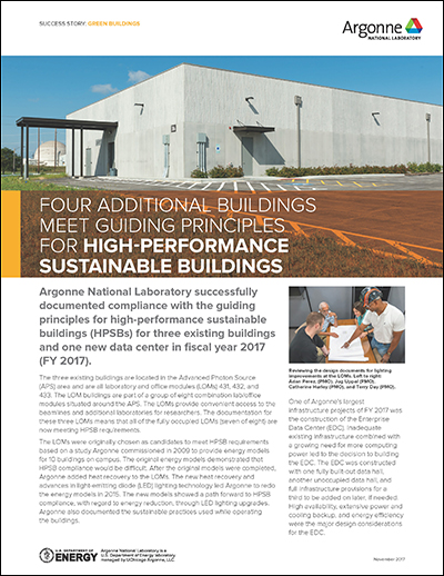 Success Story: Green Buildings