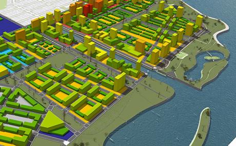Lakeside Sustainable Infrastructure Model | Argonne National
