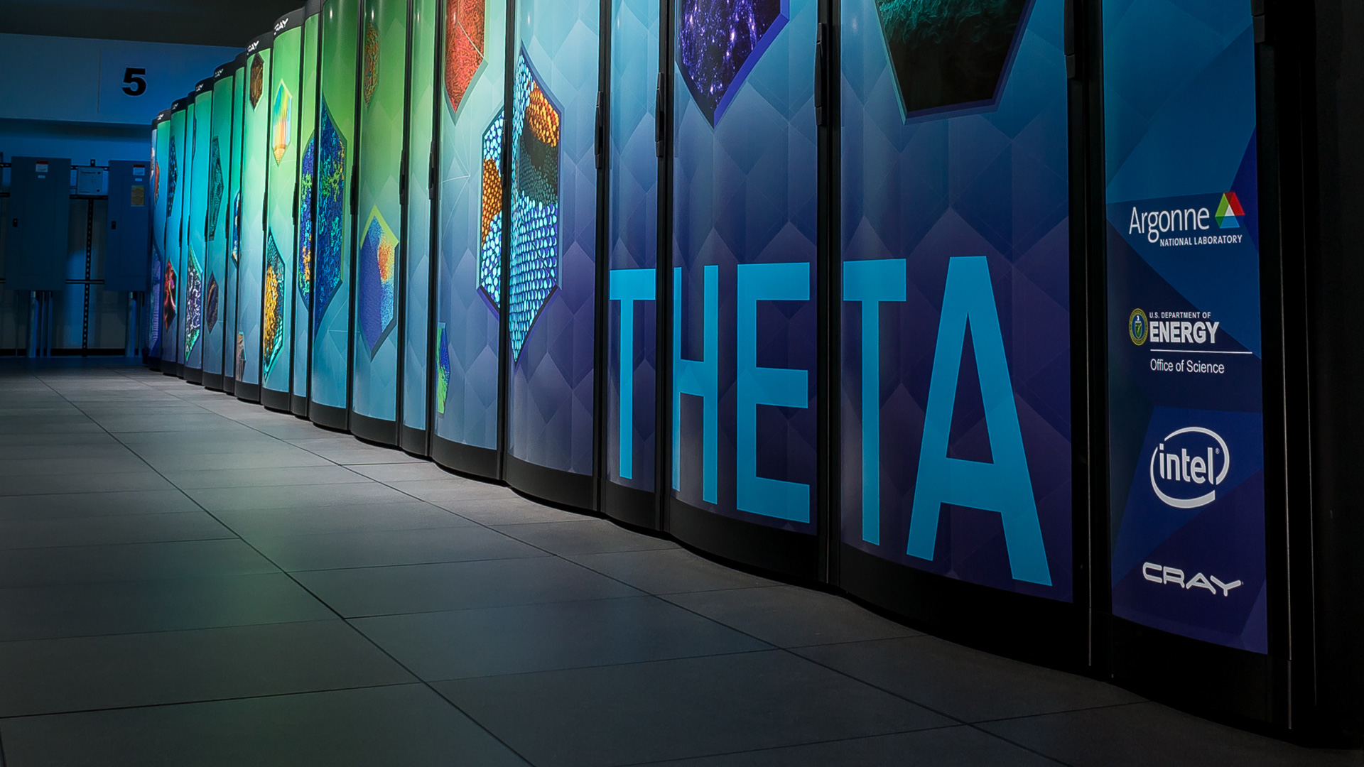 Theta Super Computer at Argonne National Laboratory