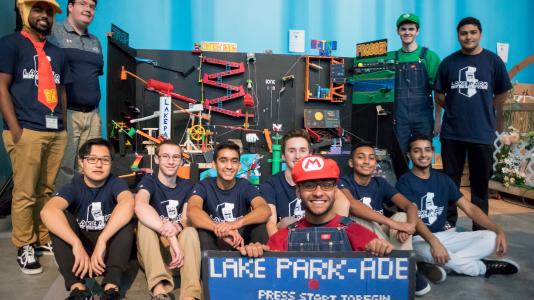 Lake Park High School becomes winner of Argonne's 2017 Rube Goldberg Machine Contest.