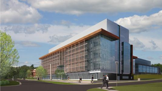Rendering of the new Materials Design Laboratory at Argonne.