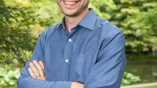 Jack Gilbert is the director of the Microbiome Center