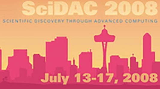 SciDAC 2008 logo