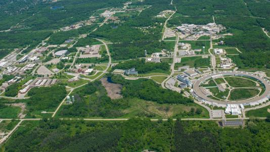 Argonne National Laboratory from the air