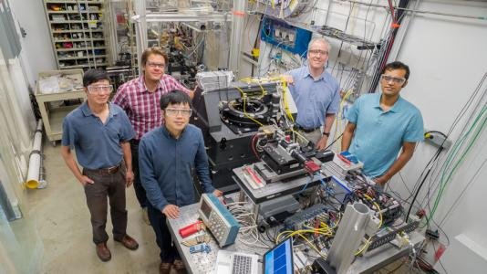 The Velociprobe team at the Advanced Photon Source