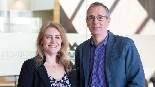 Argonne's Suzanne te Velthuis and Stephan Rosenkranz