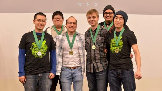 Team from the University of Illinois at Chicago won Argonne's second annual Collegiate Cyber Defense Competition