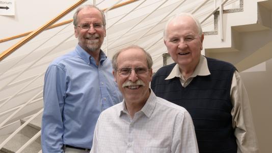 Argonne chemists Larry Harding, Al Wagner, and Joe Michael