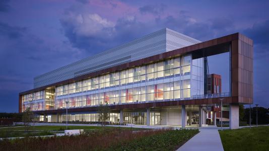 Argonne's Energy Sciences Building has been certified LEED Gold.