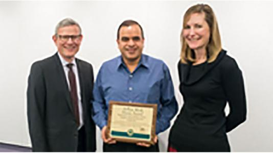 National Safety Council award presented to MCS