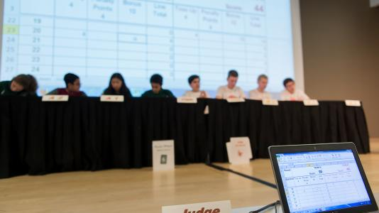 Nine Chicago area Middle School teams competed in the 26th annual Regional Science Bowl at Argonne.