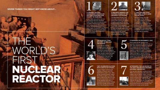 7 things you might not know about the world's first nuclear reactor