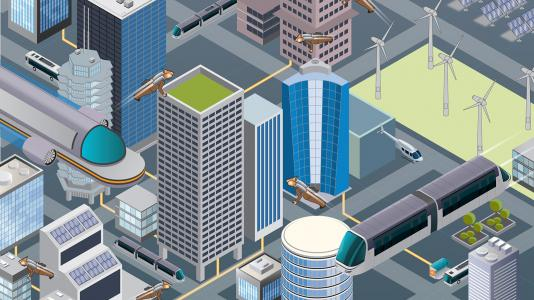 LakeSim is an Argonne-developed tool that merges urban design with scientific analysis to aid in the design of 21st century cities. To address the uncertainty of large-scale planning with so many complex variables, LakeSim creators have prototyped a new platform that seeks to help developers plan at massive scales while anticipating the ability to build in future scenarios such as climate change, improved efficiency in buildings and transportation systems, and increased renewable energy and/or micro-grid ap