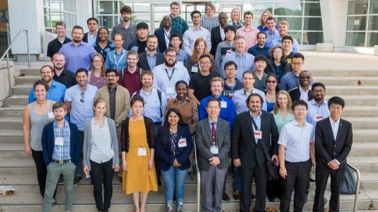 Argonne hosted the ninth annual Modeling, Experimentation and Validation summer school in late July. It drew 48 nuclear engineering students from seven countries. (Image by Argonne National Laboratory.)